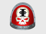 10x Red Hunters - G:2a Shoulder Pad