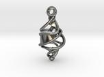 Entangled DNA Pendant