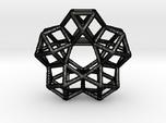 Vector Equilibrium Circle 40mm 5 cuboctahedrons