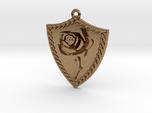 Rose Shield Pendant