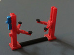 N Scale 2-post Car Lift (2x)