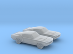 1/120 2X 1966 Ford Mustang