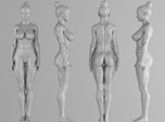 Fitness Girl 001 Scale 1/10