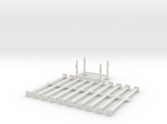 1:50 10x LONG Scafolding pipe + 1x Container box P