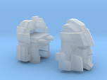 Blocky Driller's Head Combiner Tank Version