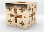 Jerusalem Cube Fractal Pendant