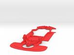 1/32 Black Arrow Ferrari 458 Chassis Slot.it pod