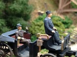 Bowler and Top hats large assortment HO scale 1:87