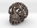 Steampunk Skull filigree