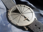 35N Sundial Wristwatch With Compass Rose