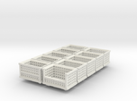 Shipping Crate Stackable 10 Pack 1-87 HO Scale
