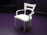 1:24 Dog Bone Chair with Arms