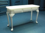 1:24 Queen Anne Plain Console Table, Large