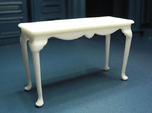 1:24 Fancy Queen Anne Console Table, Large