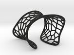 Voronoi Cuff Bracelet