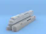 N Scale F40DDPH w/Louvered Side Panels