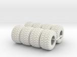 1/64 600/50x22.5 Ag Tires