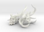 Demon Skulls Sprue: Three skulls on the sprue