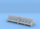 Bench type C - 1:87 scale 4 Pcs set