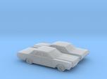 1/160 2X 1966-68  Lincoln Continental Sedan