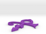 Prince Symbol Pendant Top Loop