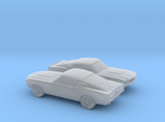 1/160 2X 1966 Ford Mustang