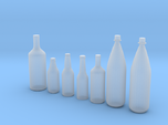 1/24 1/25 Beer bottles for display or diorama