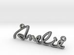 AMELIE Script First Name Pendant