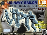 1-48 US Navy Carrier Deck Set 3-4