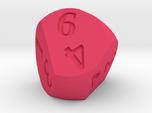 Weird D6 Rounded Dipyramid
