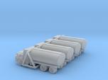Mack Tank Truck - Set of 4 - Nscale