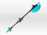 Halberd for deluxe Chromia