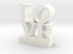 Love Sculpture - with Customizable Text