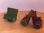 Standard Railcar Seats S Scale