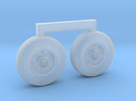 4801 - 1/48 S-3B Viking corrected ft wheels for AM