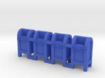 Mail Box - 'N' 160:1 Scale Qty (4)
