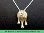Climate Change Pendant - Nature Jewelry
