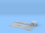 SAL/SCL M-7 Caboose Body Kit Late Windows
