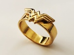 Wonder Woman ring - Bottle Opener band or regular