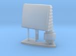 1:96 scale SPQ-9B radar