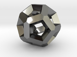 Inverted Edges Dodecahedron Pendant