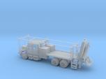 MOW Rail Truck 4 Door Cab Open W Hiab Hoist 1-87 H