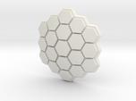 Hexagonal Energy Shield, 4mm Grip