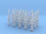 1-350 Generic Naval Officers Set 1