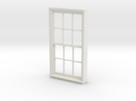 Window, 40in X 74in, 12 Panes, 1/32 Scale