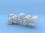 6mm Futuristic Civilian Cars (10pcs)