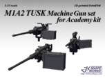 1/16 M1A2 Tusk Machine Gun set