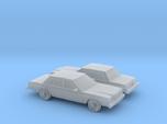 1/160 2X 1980-83 Dodge Diplomat Sedan