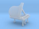 N Scale Grand Piano (Open)
