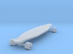 1/24 Scale Long Board  (Wheel Cutout)